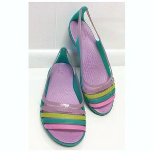 Crocs   Jelly Sandals / Flats Multicolor COMFORT!